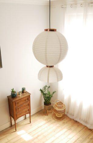 DIY lampe suspension en papier