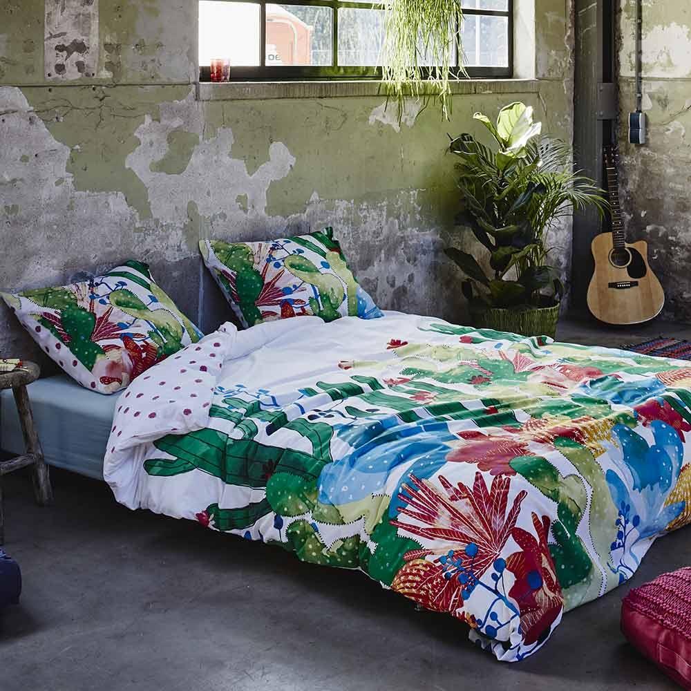 une housse de couette jungle pour l 39 hiver atelier des tilleuls. Black Bedroom Furniture Sets. Home Design Ideas