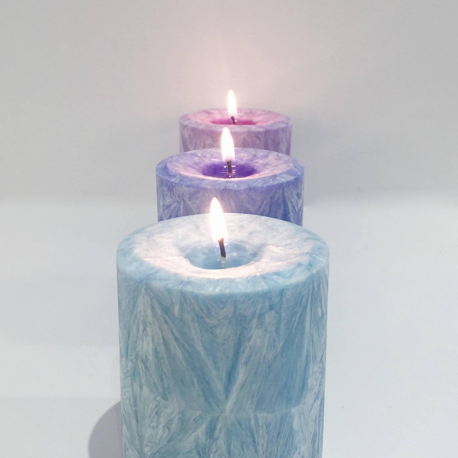 Les bougies de chakra vegan - CANDELICIOUS FRANCE