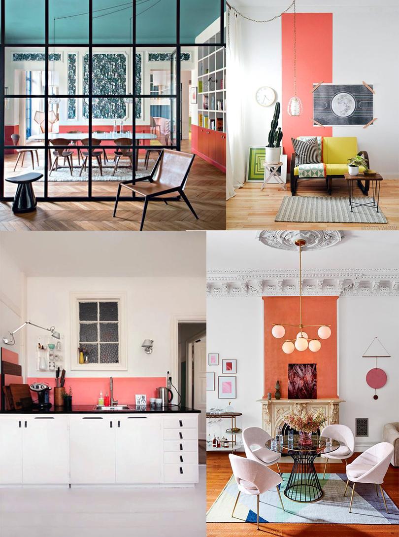 17 Planches D Inspirations Déco En Living Coral Atelier