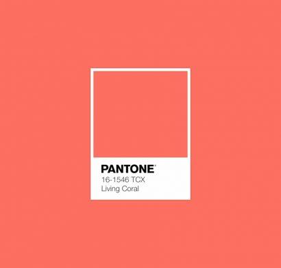 couleur Living Coral référence Pantone 16-1546