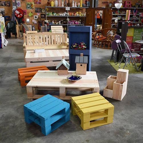 Boutique Calitom - recyclerie de Poullignac pour chiner en Charente