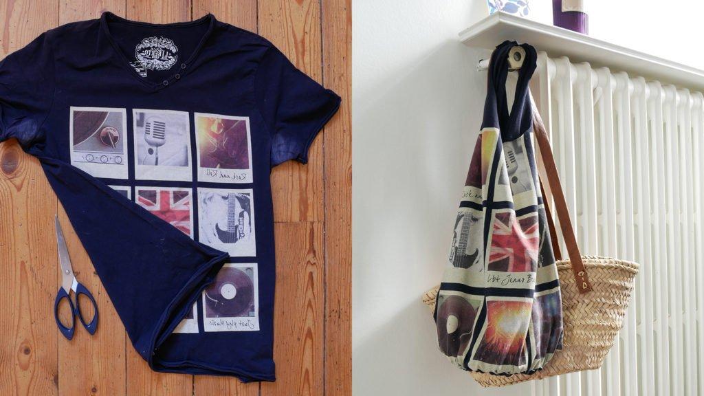 DIY Vidéo – Créer un sac à provisions avec un T-shirt