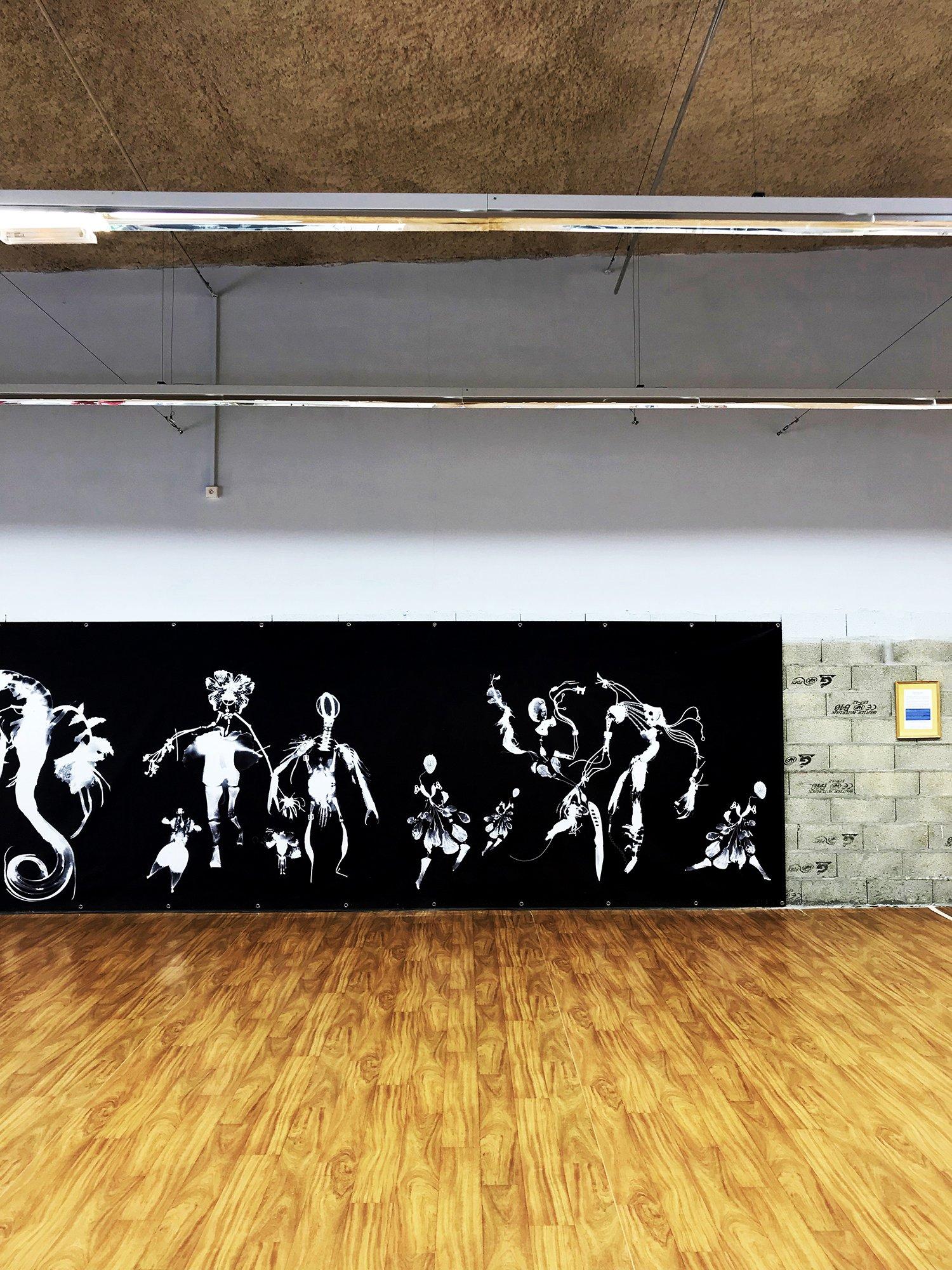"""expo l'art ou on ne l'attend pas,   ANGÈLE POULAIN VILLENEUVE  alias El René -  """"Les créatures obscures"""""""