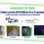 ateliers upcycling avec les Galeries Lafayette