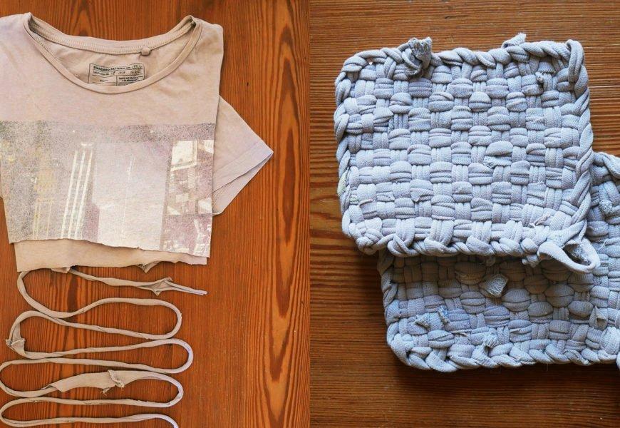 DIY éponge tawashi sans planche ni clou