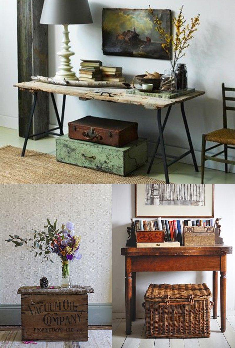 Utiliser une vieille valise ou malle comme objet déco