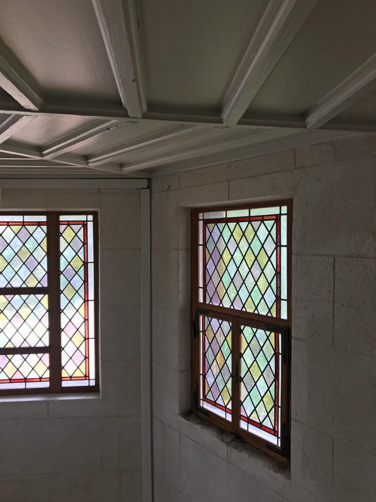 vitraux de la maison alsacienne à Angoulême en Charente