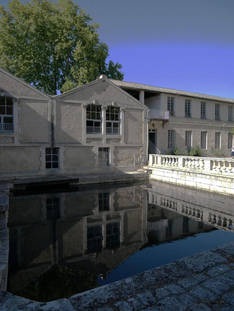 façade du Moulin de la Courade en Charente