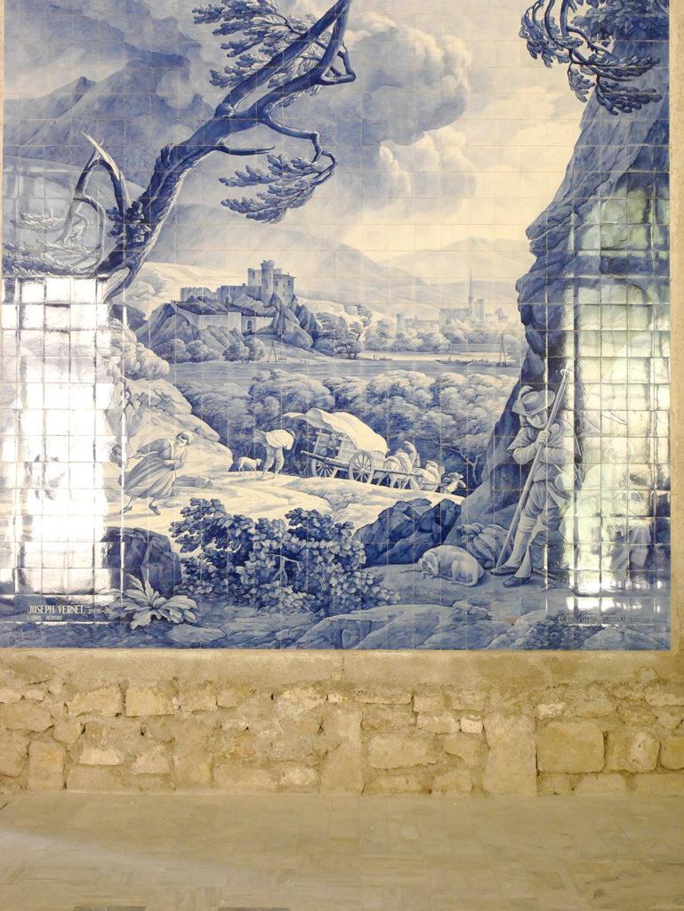 Azuleros du château de la mercerie en charente