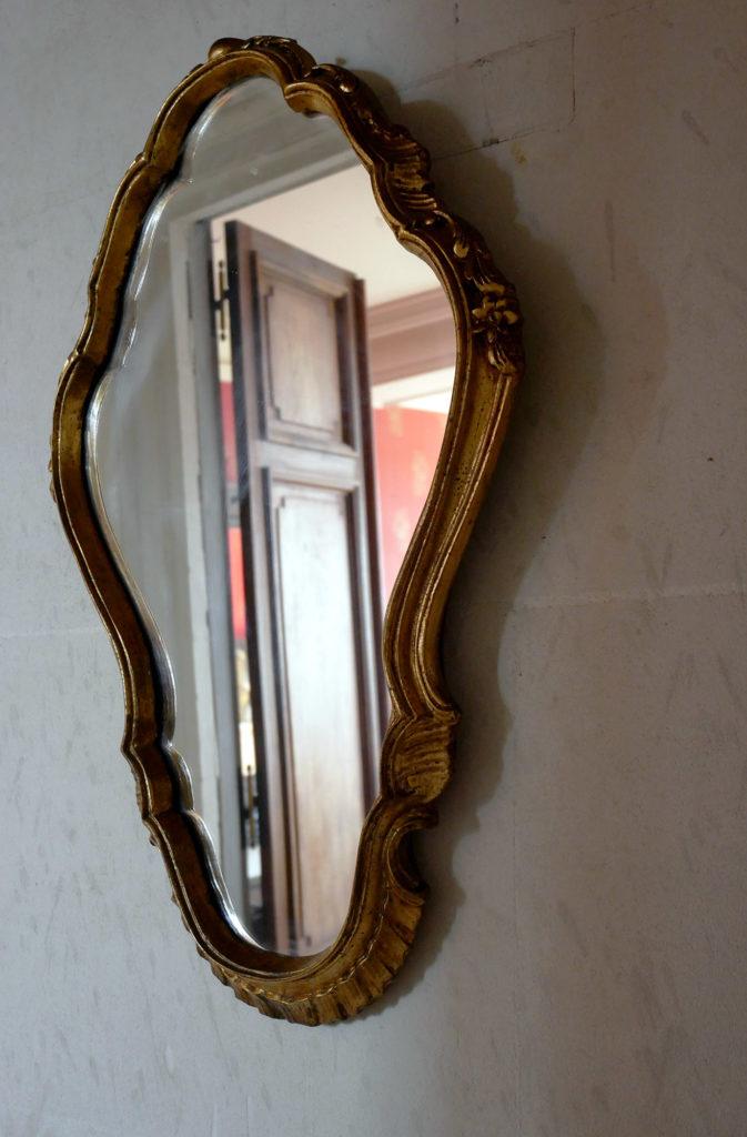 miroir au château de la mercerie en charente