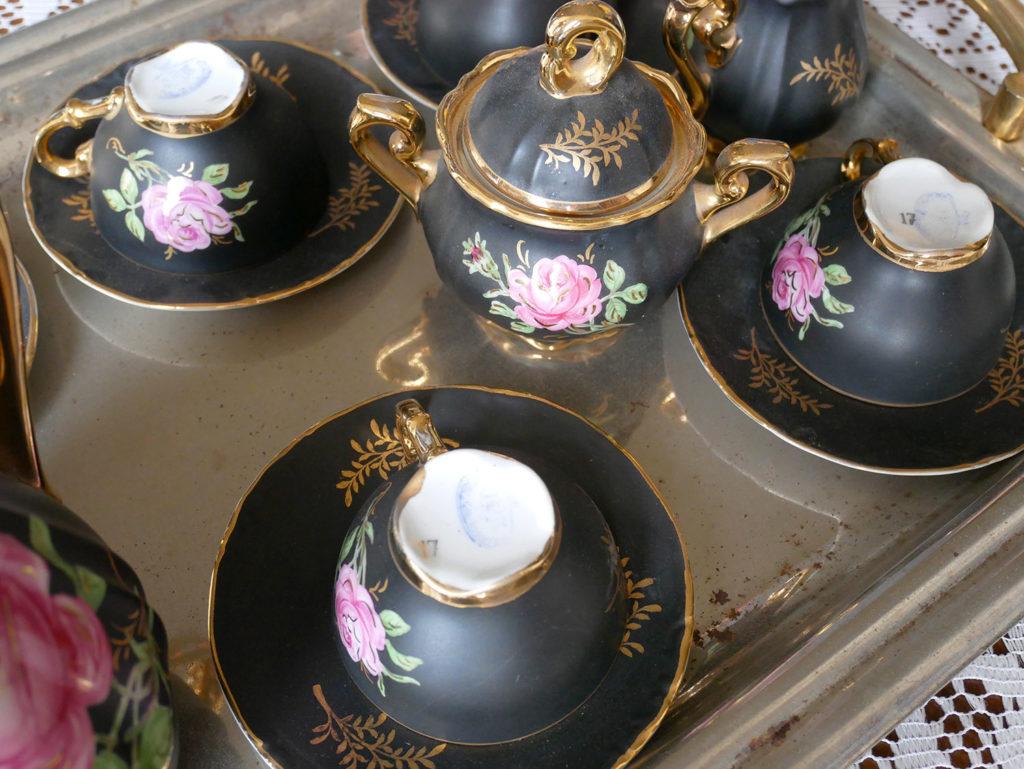 service à thé du château de la mercerie en charente