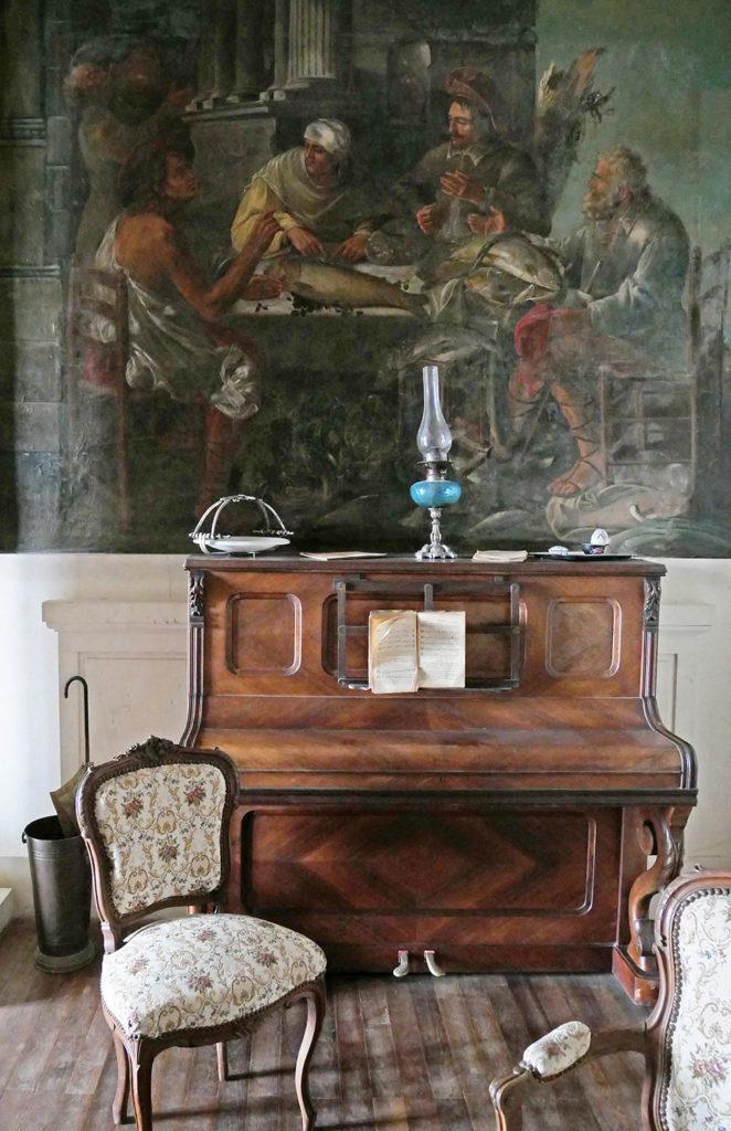 piano du château de la mercerie en charente