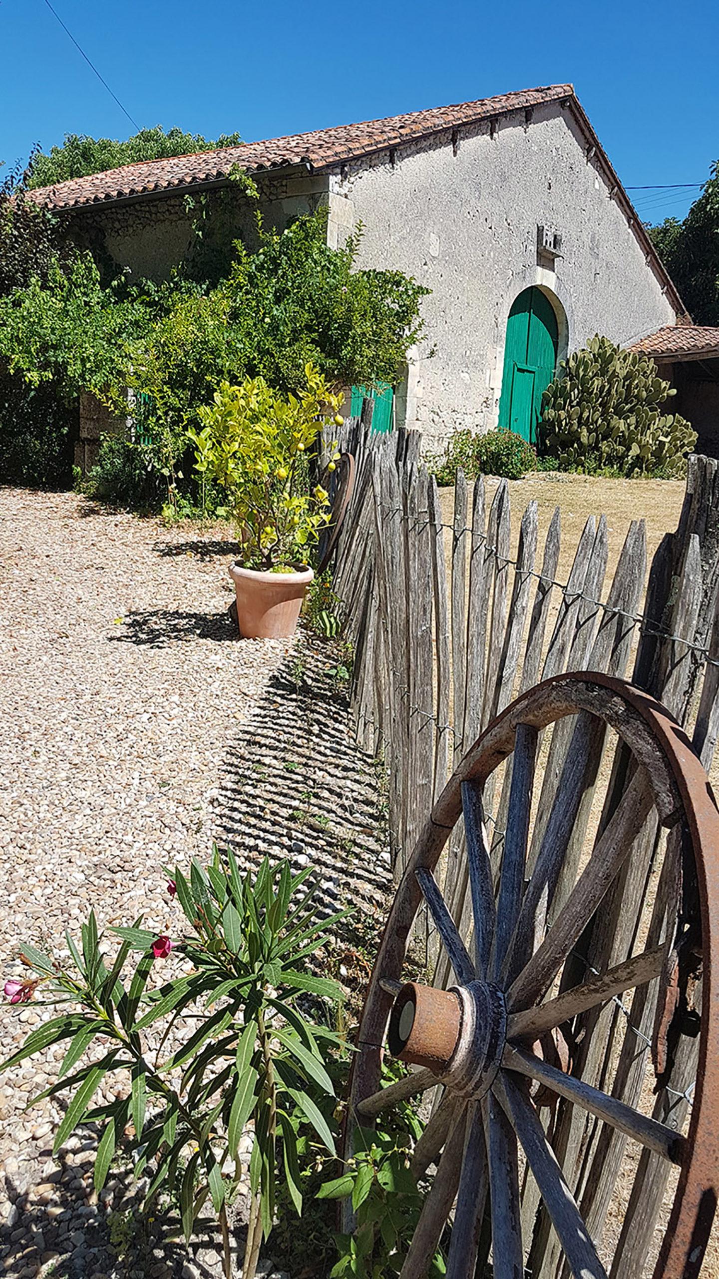 entrée des jardins du coq