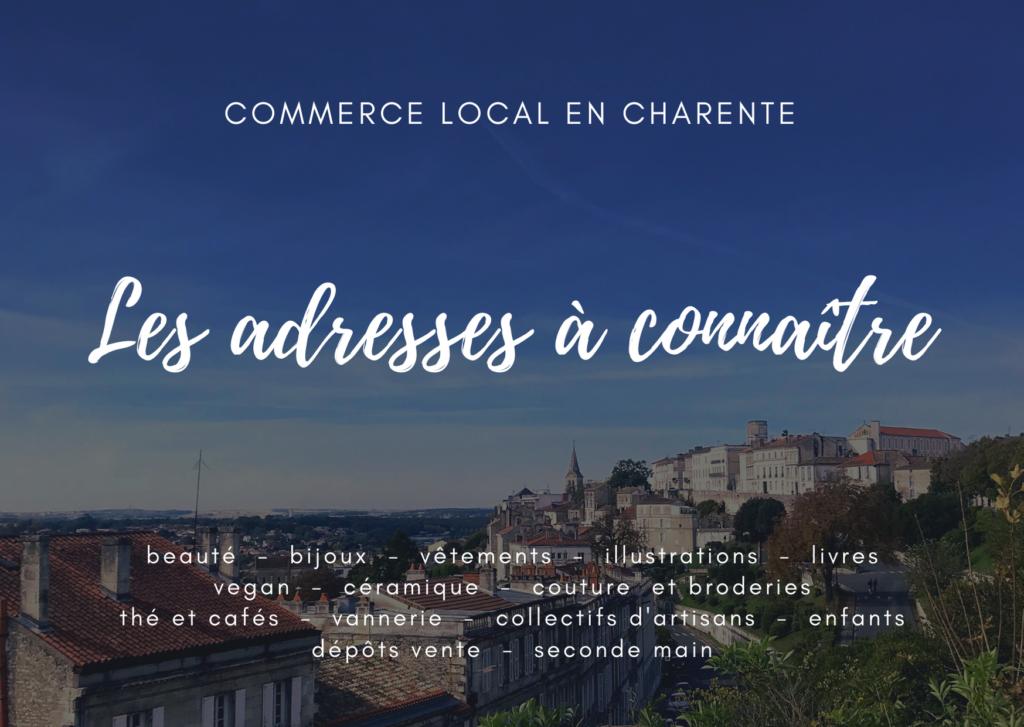 commerce local en Charente