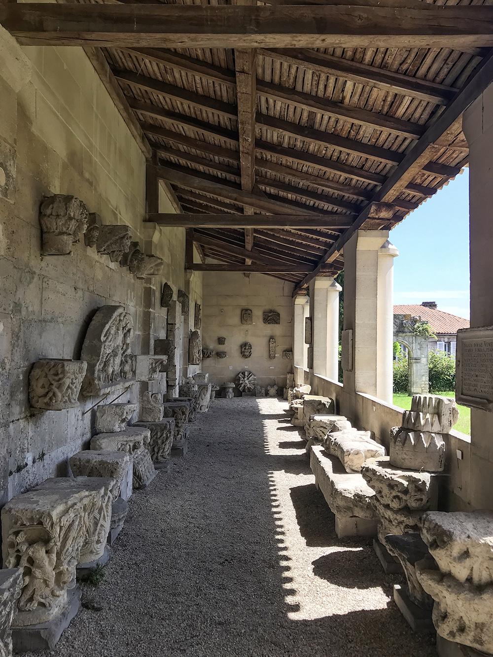 galerie lapidaire gréco-romaine de la SAHC